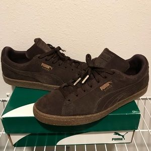 Puma Suede Chocolate Ice Cream